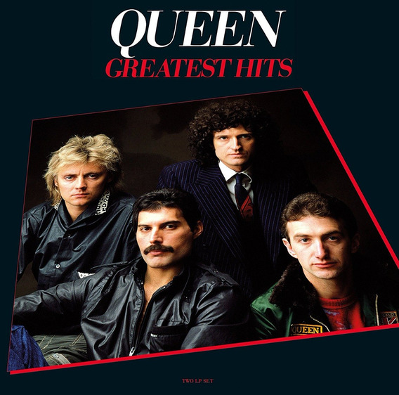 Lp Vinil Queen Greatest Hits 1 E 2 (02 Discos Duplos) 180g