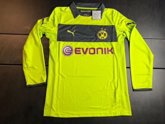 Camisa Borussia Dortmund 2012-2013 Gk Manga Longa Tam G Nova
