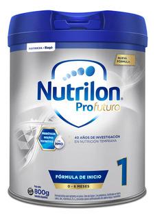 Leche de fórmula en polvo Nutricia Bagó Nutrilon Profutura 1 en lata de 800g