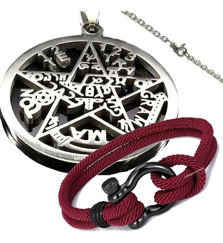 Nuevo Tetragramaton Acero + Pulsera Nautica Premium, Pack
