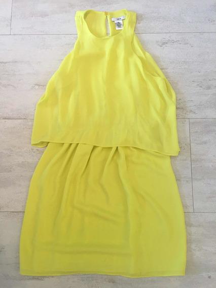 Vestido Niña Talla S Color Amarillo Importado