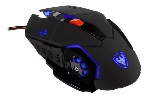 Mouse Gamer Óptico Satellite A-92 Usb De 4.800cpi Novo Barato Promoção