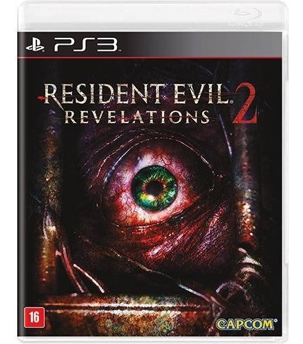 Ps3 Resident Evil Revelations 2 Mídia Física Novo Lacrado