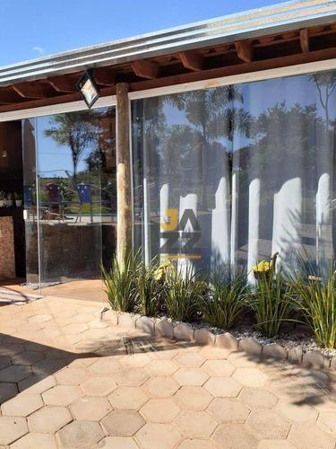 Chácara Com 4 Dormitórios À Venda, 750 M² Por R$ 580.000,00 - Estância Balneária Águas Virtuosas - Bauru/sp - Ch0696