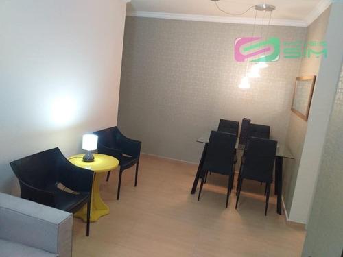 Imagem 1 de 21 de Apartamento Em Parque Boa Esperanca - Mauá - 4637