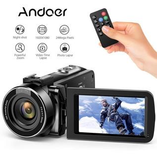 Videocámara Andoer La Cámara Vídeo Hd 1080p 16x Zoom Digital