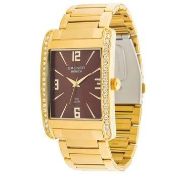 Relógio Backer Munich 3350145l Mr Com Frete Grátis!