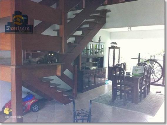 Casa Com 3 Dormitórios À Venda, 237 M² Por R$ 1.059.000,00 - Campestre - Santo André/sp - Ca0185
