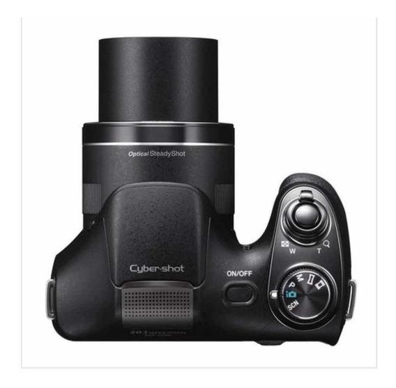 Câmera Fotográfica Sony Dsc H 300 20 Megapixels