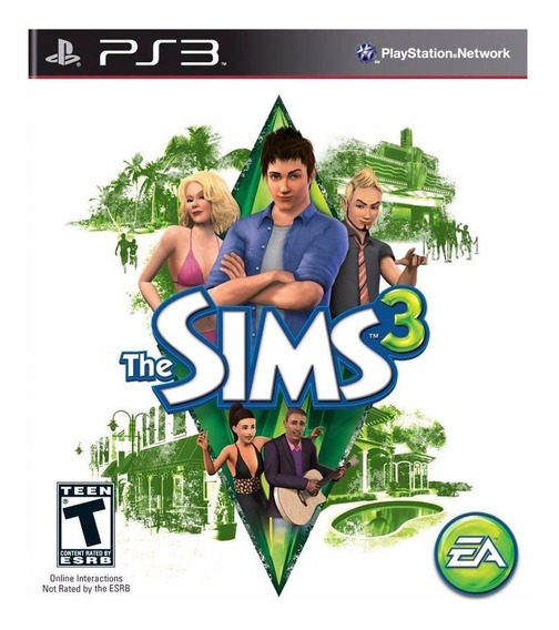 The Sims 3 Ps3 Mídia Física Lacrado