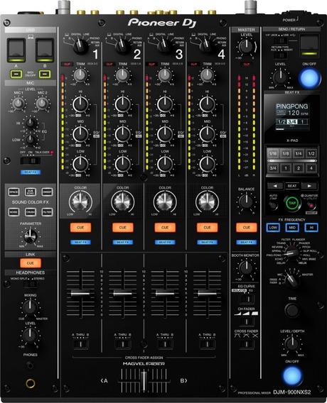 Mixer Pioneer Dj Djm-900nxs2 De 4 Canais Envio Imediato