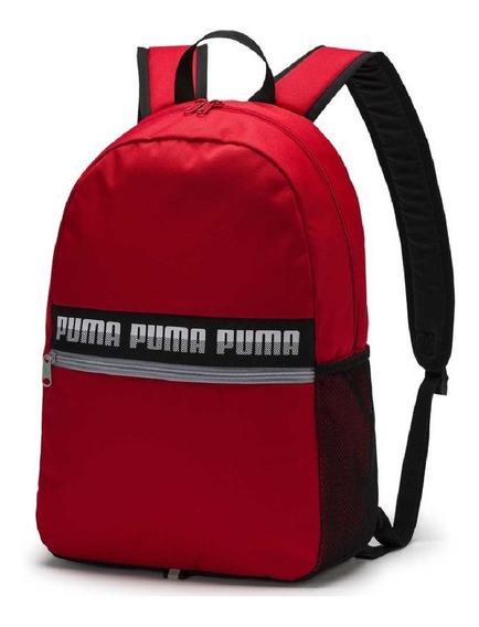 Mochila Escolar Puma Phase Vermelha Original - Frete Grátis