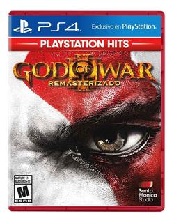 God Of War 3 Remasterizado Para Ps4 Nuevo Sellado