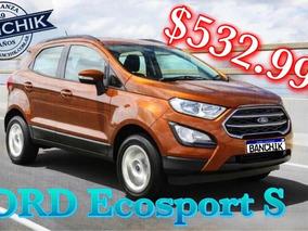 Ford Ecosport 1.5 S 123cv 4x2 2018 0km - Banchik