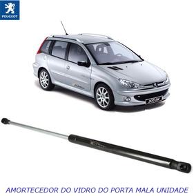 Amortecedor Do Vidro Do Porta Mala Peugeot 206 Sw Após 2005