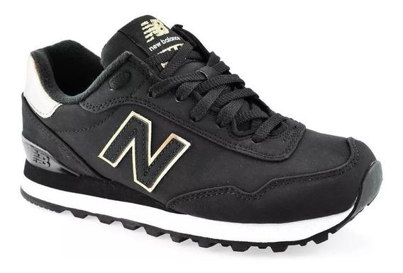 Tênis New Balance 515 Classics Couro Nb - Preto Original