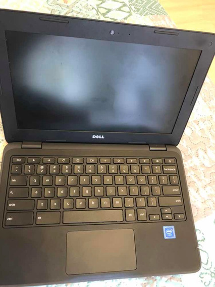 Dell Inspiron 11.6 Chromebook Celeron 4gb Ram 32 Gb Flash