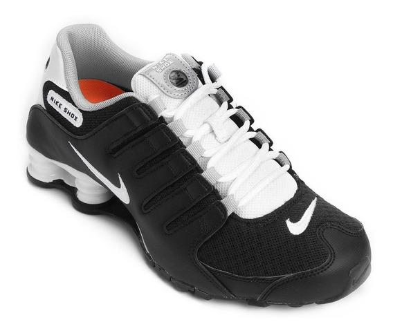 Tênis Nike Shox Nz Eu Preto/branco Original + Nota Fiscal
