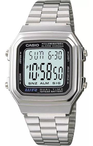 Relógio Casio Unissex A178wa-1adf Original 1 Ano De Garantia