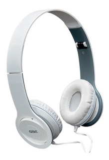 Auricular Vincha Plegable 3.5mm Blanco Pc Celular Tv Hi-fi