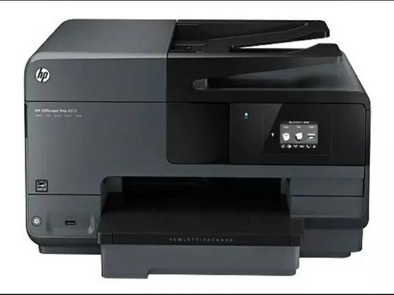 Impressora Hp 8610 C/ Bulk Ink, Grátis Kit De Tinta