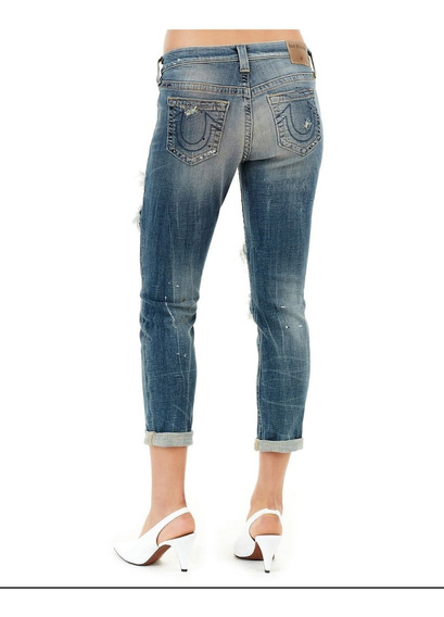 Jeans True Religion, Dama Slim Talla 23