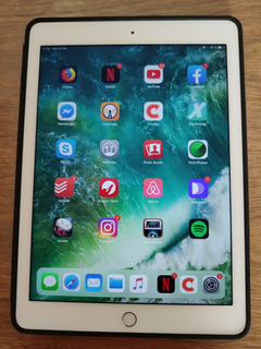 iPad Air 2 32gb + Funda Original De Cuero Apple - La Plata