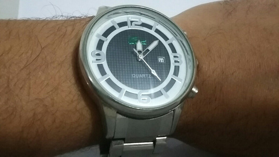 Relógio La Coste Em Aço