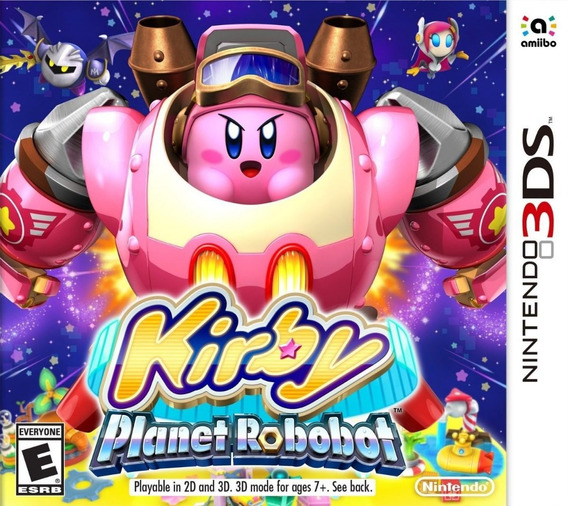 Kirby Planet Robobot - Nintendo 3ds - Digital Eshop Codigo