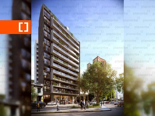Venta De Apartamento Obra Construcción 2 Dormitorios En Tres Cruces, Met Tres Cruces Unidad 1201