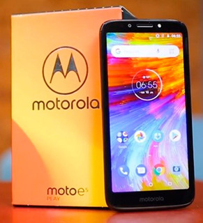 Smartphone Moto E5 16gb Play Cam 8mp Original Android Dualch