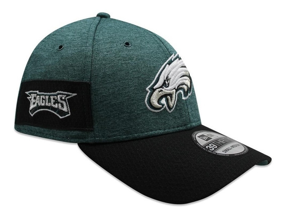 Gorra New Era 39 Thirty On Field 2018 Eagles Sideline Defend