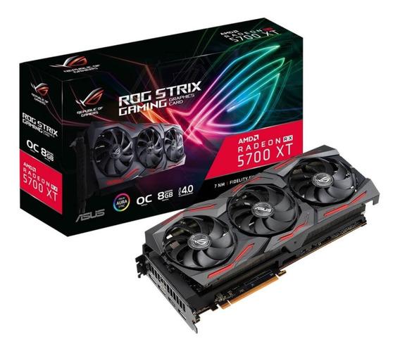 Placa De Video Asus Rog Strix Radeon Rx 5700xt 8gb Oc Gaming