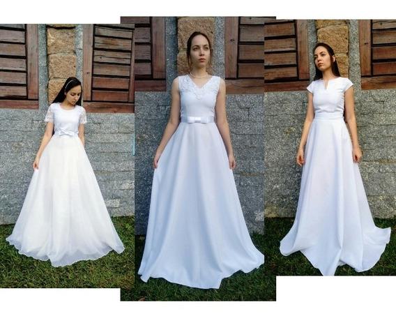 Vestido Noiva Bonito Barato Vestidos Femeninos Longo Com O