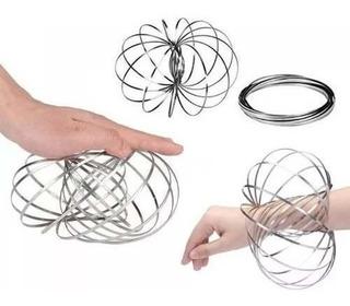 Flow Magic Ring Aro Kinético Juego Chicos Adultos Antistress