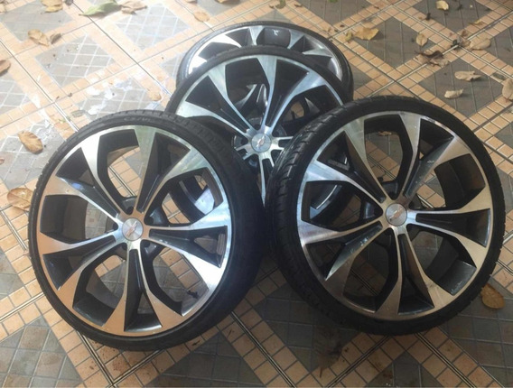 Roda Aro 20 5x100 Corolla Golf Polo Etc