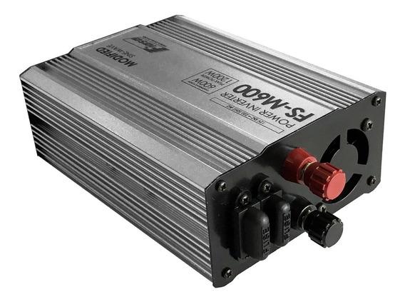 Inversor De Corriente Off Grid 12 V Cc / 220 Vca 600