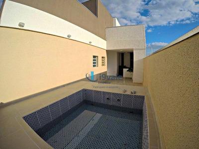 Cobertura Duplex 110m², 3 Dormitórios, Jardim Coleginho, Jacareí-sp - Co0023