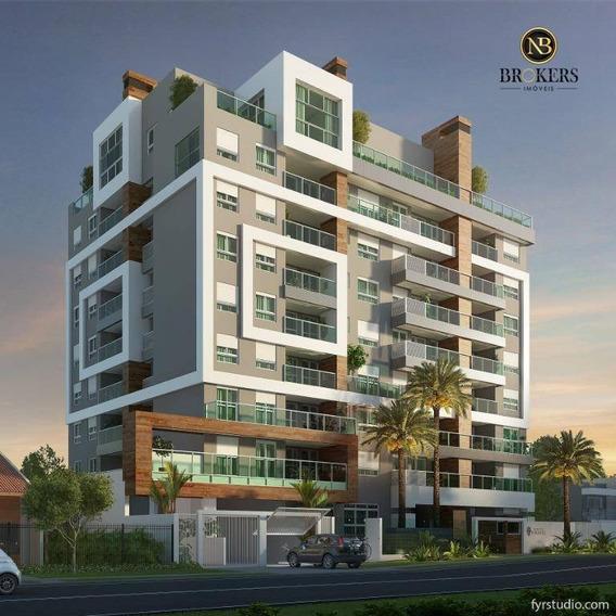 Apartamento Garden Com 3 Dormitórios À Venda, 99 M² Por R$ 1.049.000,00 - Vila Izabel - Curitiba/pr - Gd0100