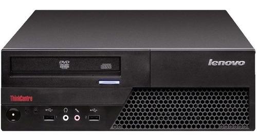 Imagem 1 de 4 de Cpu Desktop Lenovo C2d E8400 4gb Ddr3 Hd 80gb Dvd Wifi