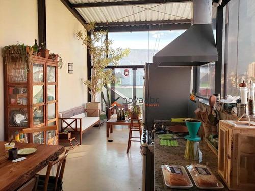 Imagem 1 de 27 de Cobertura Com 2 Dormitórios À Venda, 70 M² Por R$ 650.000,00 - Vila Valparaíso - Santo André/sp - Co1305