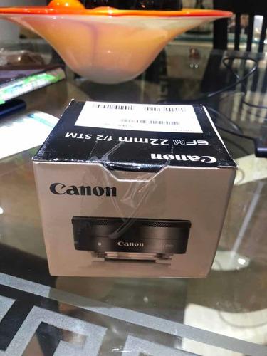 Imagen 1 de 1 de Lente De Cámara Canon 22mm Profesional