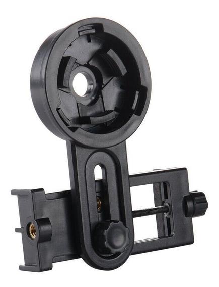 Chrysin Adapatador Universal Suporte Celular Telescopio Binoculo Microscopio Rosqueavel Giratorio