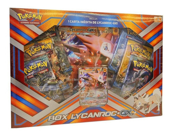 Pokemon Box Lycanroc Gx