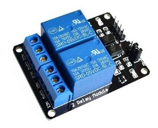Shield Arduino | Módulo 2 Relés C/ Amplificador