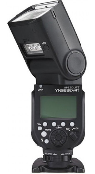 Flash Yongnuo 968ex-rt Receptor Y Led Integrados P/ Canon