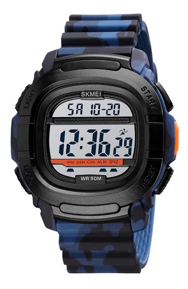 Skmei 1657 Relógio Digital Relógio Desportivo Azul