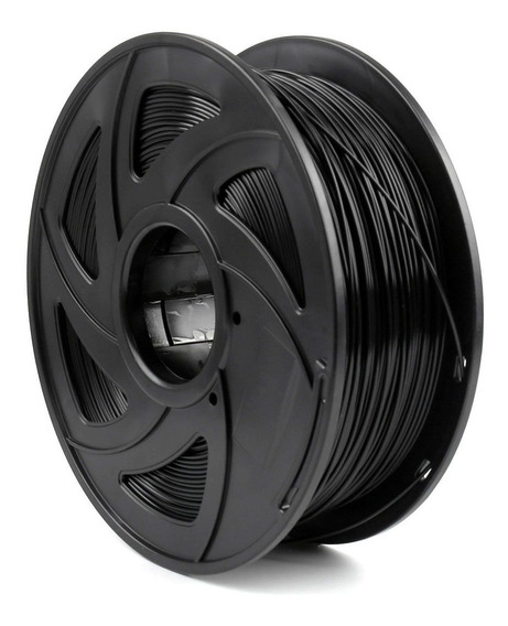 Filamento Pla Para Impressão 3d | 1,75mm | 1kg | Cor Preta