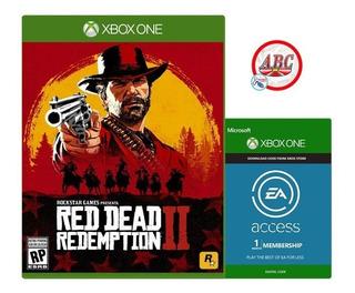 Juego Xbox One Red Dead Redemption 2 + Membresia Ea Access