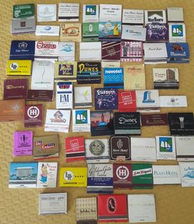 Coleccion De Cajitas De Fosforos Antiguas Lote De 68 Cajitas